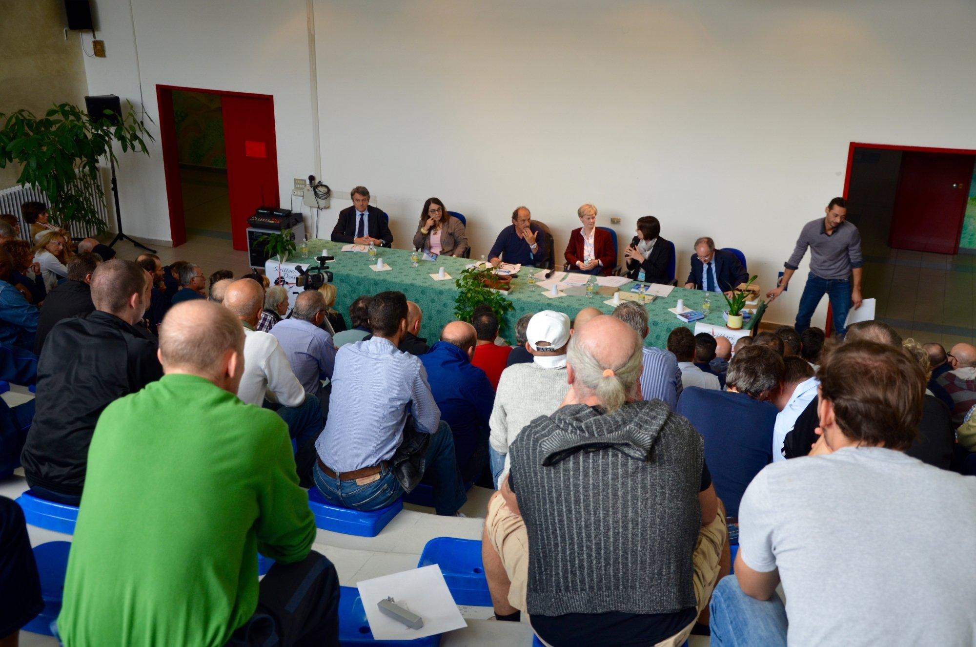 Premiazione del concorso Scrittori Dentro 2014 al carcere di Padova